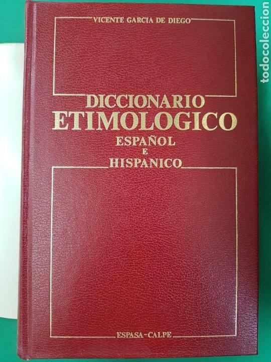 DICCIONARIO ETIMOLÓGICO , ESPASA-CALPE, 1985 , SEGUNDA EDICIÓN (Libros Nuevos - Diccionarios y Enciclopedias - Diccionarios)