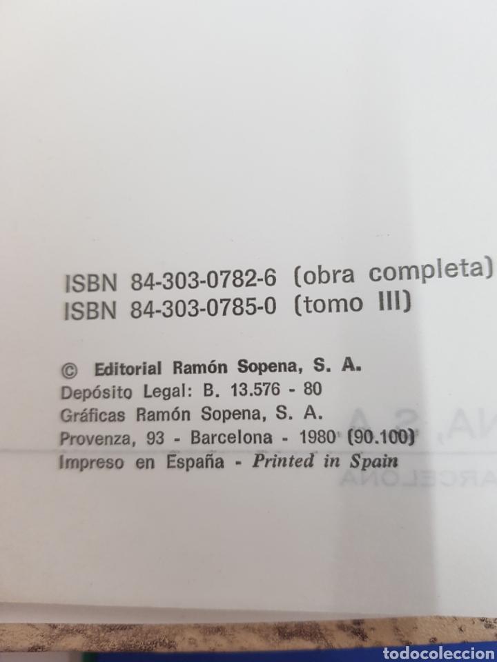 Diccionarios: Gran Sopena ,Diccionario Ilustrado de la Lengua , colección completa 3 tomos - Foto 4 - 183064461
