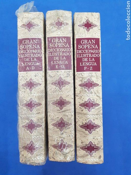 GRAN SOPENA ,DICCIONARIO ILUSTRADO DE LA LENGUA , COLECCIÓN COMPLETA 3 TOMOS (Libros Nuevos - Diccionarios y Enciclopedias - Diccionarios)