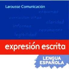 Diccionarios: EXPRESION ESCRITA: LENGUA ESPAÑOLA: MANUALES PRACTICOS VV.AA.. Lote 183552897