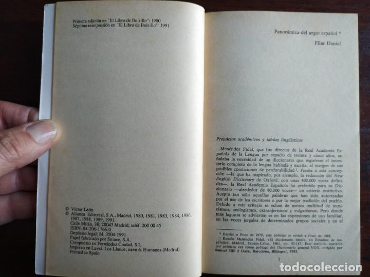 Diccionarios: Diccionario de Argot Español, de Victor Lujan Diccionario alternativo a normas puramente lingüística - Foto 2 - 184791207