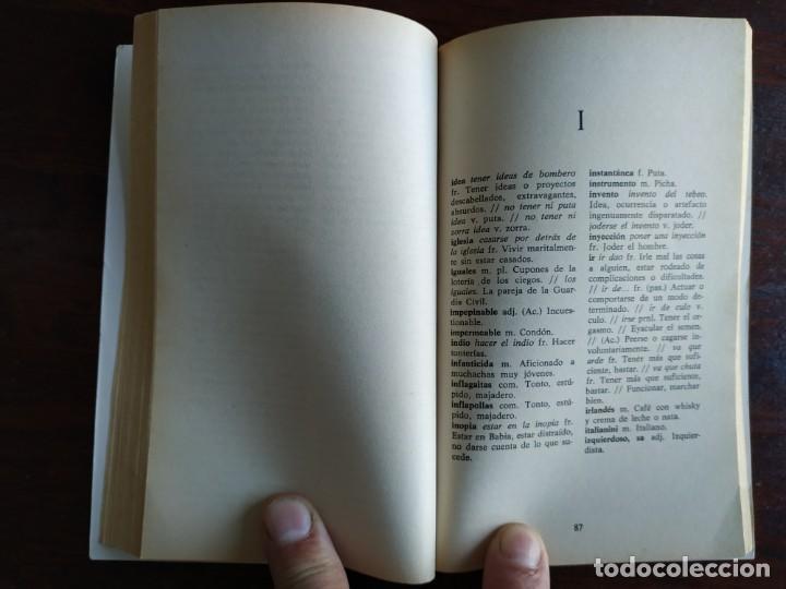 Diccionarios: Diccionario de Argot Español, de Victor Lujan Diccionario alternativo a normas puramente lingüística - Foto 6 - 184791207