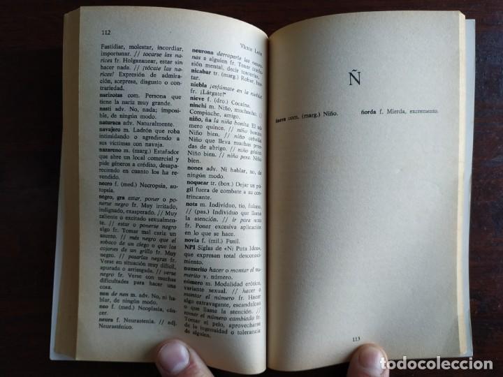 Diccionarios: Diccionario de Argot Español, de Victor Lujan Diccionario alternativo a normas puramente lingüística - Foto 7 - 184791207