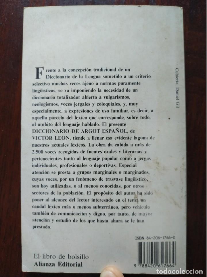 Diccionarios: Diccionario de Argot Español, de Victor Lujan Diccionario alternativo a normas puramente lingüística - Foto 9 - 184791207