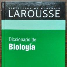 Diccionarios: DICCIONARIO DE BIOLOGIA.. Lote 187090067