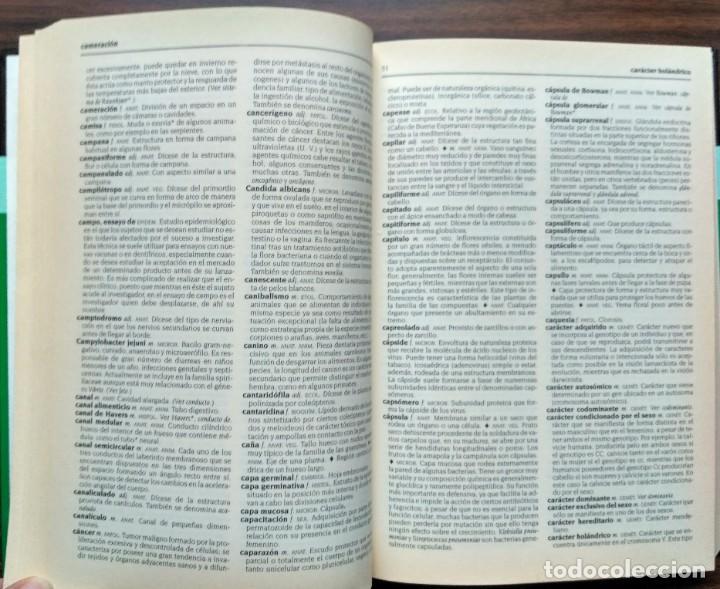 Diccionarios: DICCIONARIO DE BIOLOGIA. - Foto 2 - 187090067