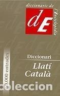 DICCIONARI LLATÍ-CATALÀ (Libros Nuevos - Diccionarios y Enciclopedias - Diccionarios)