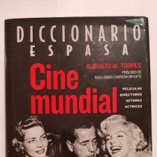 Diccionarios: DICCIONARIO ESPASA CINE MUNDIAL. Lote 188677908