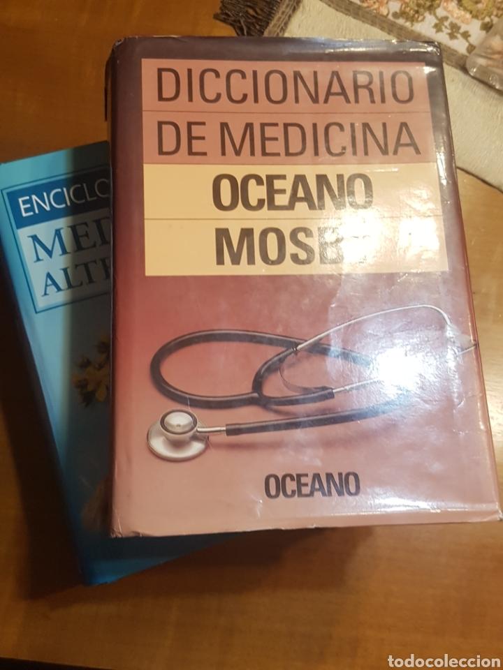 Diccionarios: Diccionario de medicina y enciclopedia de las medicinas alternativas Oceano - Foto 2 - 188748427