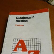 Diccionarios: DICCIONARIO MÉDICO 3 EDICION MASSON. Lote 188750180