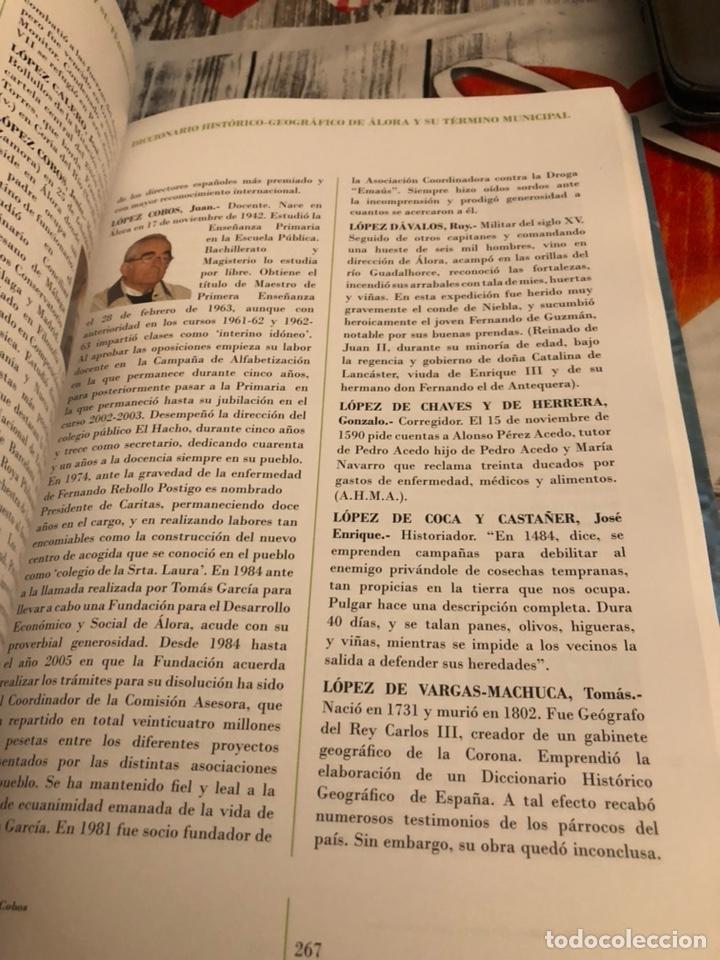 Diccionarios: Diccionario histórico- geográfico de alora y su término municipal - Foto 4 - 188758776
