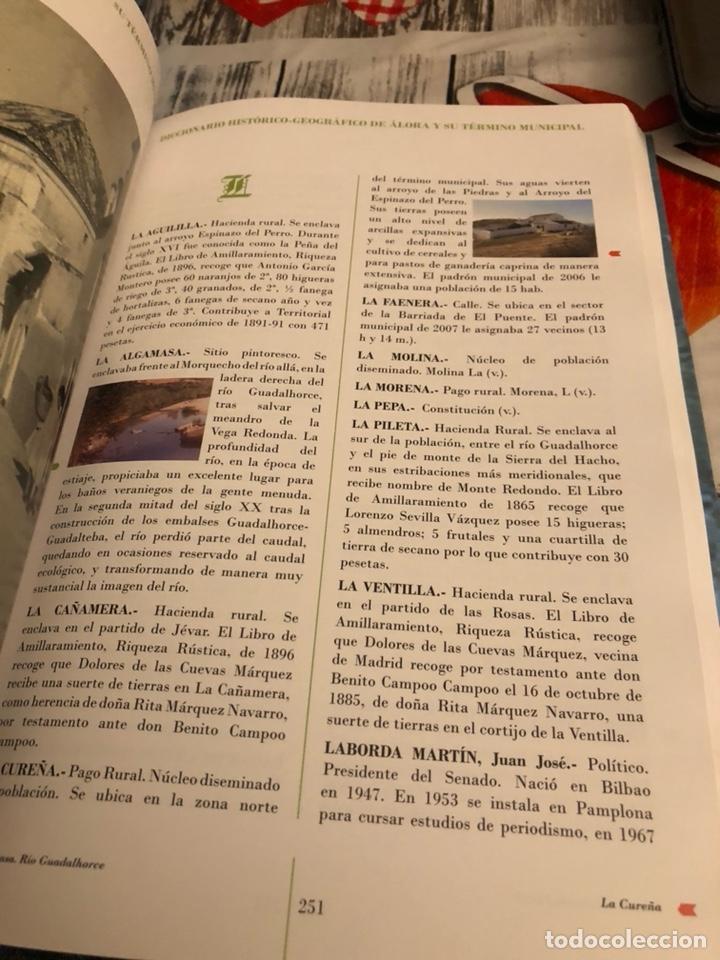 Diccionarios: Diccionario histórico- geográfico de alora y su término municipal - Foto 5 - 188758776