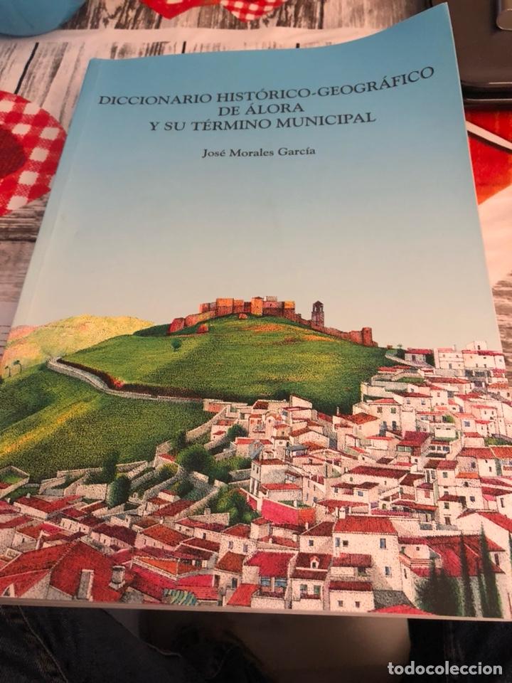 DICCIONARIO HISTÓRICO- GEOGRÁFICO DE ALORA Y SU TÉRMINO MUNICIPAL (Libros Nuevos - Diccionarios y Enciclopedias - Diccionarios)