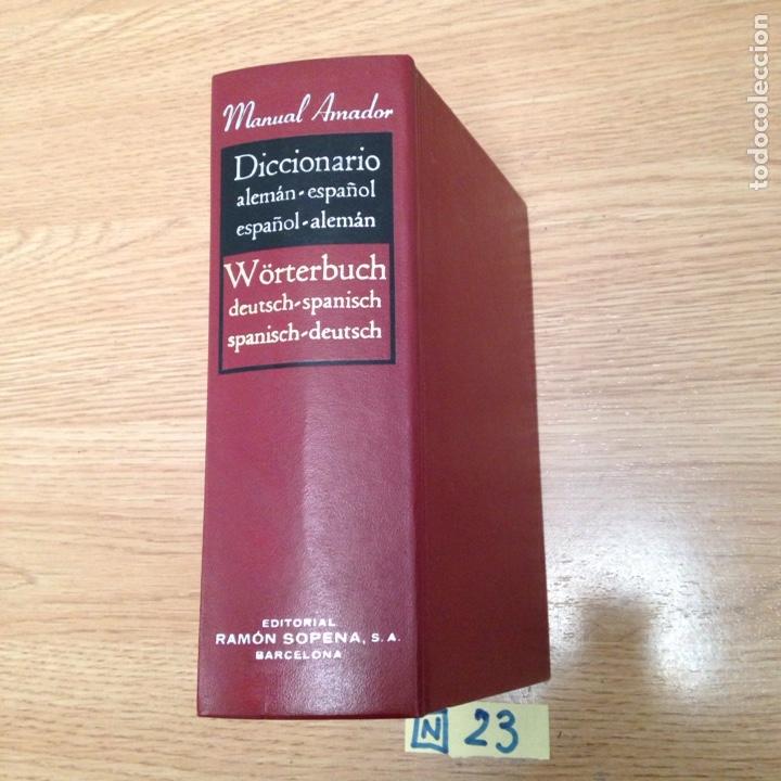 DICCIONARIO ALEMÁN ESPAÑOL (Libros Nuevos - Diccionarios y Enciclopedias - Diccionarios)