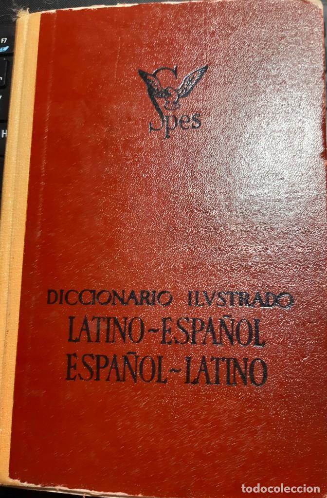 DICCIONARIO ILUSTRADO LATIN-ESPAÑOL SPES 1964 (Libros Nuevos - Diccionarios y Enciclopedias - Diccionarios)