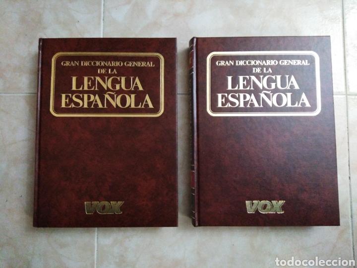 Diccionarios: Gran diccionario general de la lengua española vox ( 2 libros ) - Foto 3 - 191302503