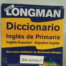 Diccionarios: 31647 - DICCIONARIO INGLES DE PRIMARIA - EDITORIAL LONGMAN - AÑO 2004 - NO INCLUYE CD . Lote 192227505