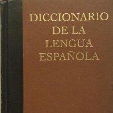 Diccionarios: DICCIONARIO DE LA LENGUA ESPAÑOLA. ESPASA. REF: AX 472. Lote 194617447