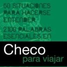 Diccionarios: CHECO PARA VIAJAR. Lote 194859148