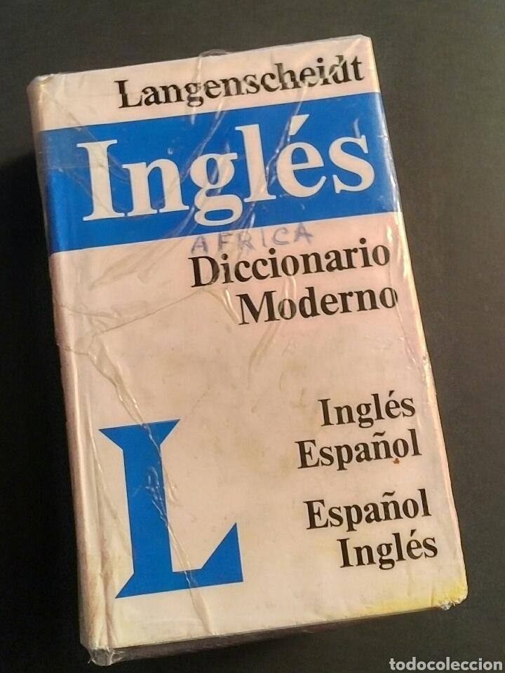 DICCIONARIO MODERNO LANGENSCHEIDT INGLÉS ESPAÑOL INGLÉS BILINGÜE - MÁS 75000 VOCES (Libros Nuevos - Diccionarios y Enciclopedias - Diccionarios)