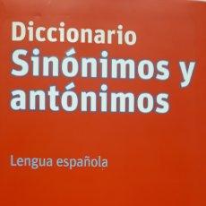 Diccionarios: DICCIONARIO SINÓNIMOS Y ANTÓNIMOS. Lote 199829873