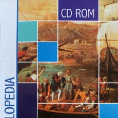 Diccionarios: CD ROM ENCICLOPEDIA TEMÁTICA NAUTA LENGUA LITERATURA GEOGRAFIA HISTORIA CIENCIAS PURAS NATURALES. Lote 234431025