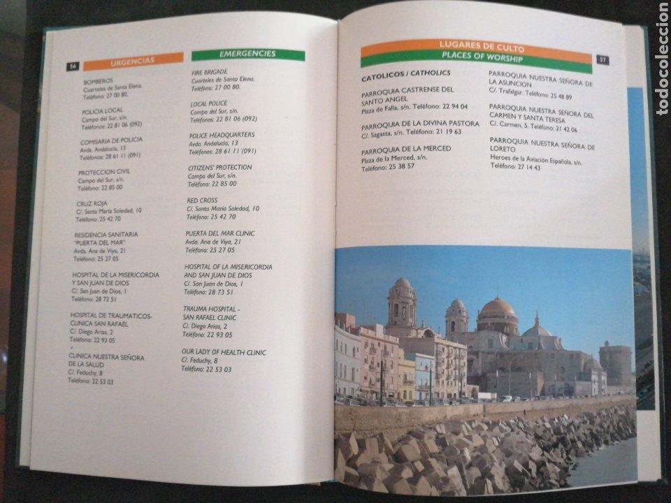 Diccionarios: CÁDIZ , LIBRO DE LA CIUDAD DE CÁDIZ, CITY BOOK - Foto 4 - 201207682