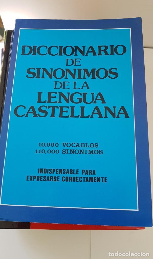 Diccionarios: LOTE DE 4 LIBROS: DICC. FRASEOLÓGICO. DICC DE MEDIOS DE COMUNICACIÓN, FRASES HECHAS Y SINÓNIMOS - Foto 5 - 204054732