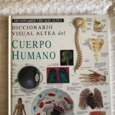 Diccionarios: DICCIONARIO VISUAL DEL CUERPO HUMANO. Lote 205245171