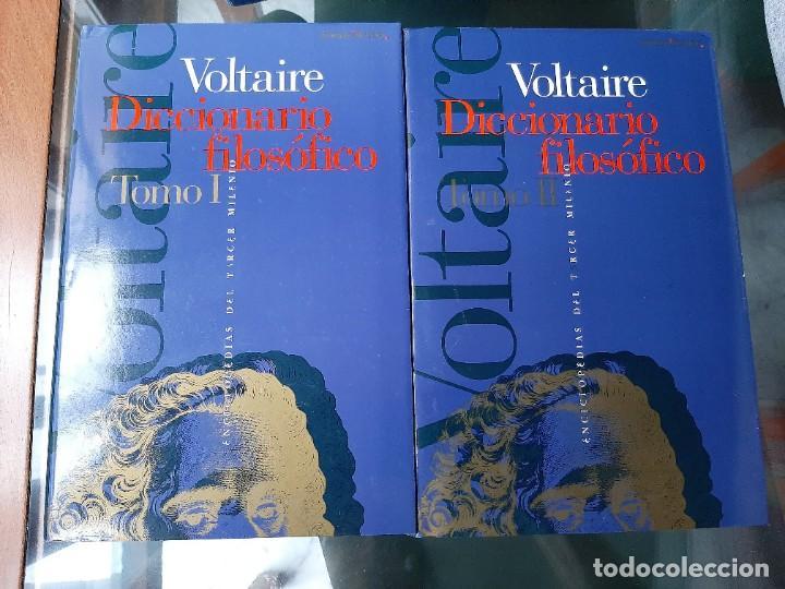 DICCIONARIO FILOSOFICO VOLTAIRE DOS TOMOS (Libros Nuevos - Diccionarios y Enciclopedias - Diccionarios)