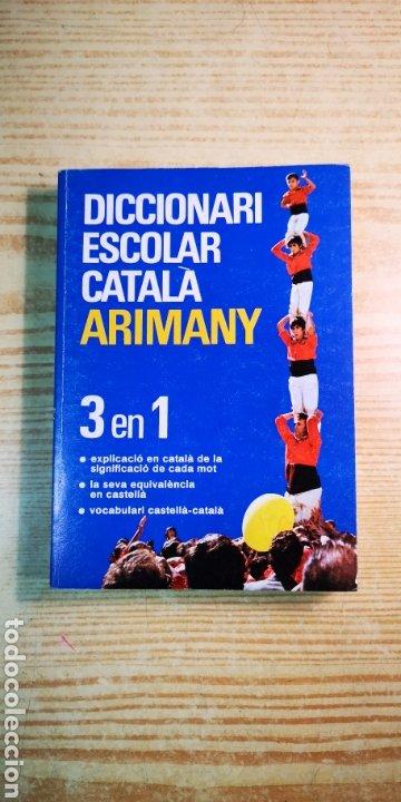 DICCIONARIO CATALÀ ARIMANY 3 EN 1 A ESTRENAR (Libros Nuevos - Diccionarios y Enciclopedias - Diccionarios)