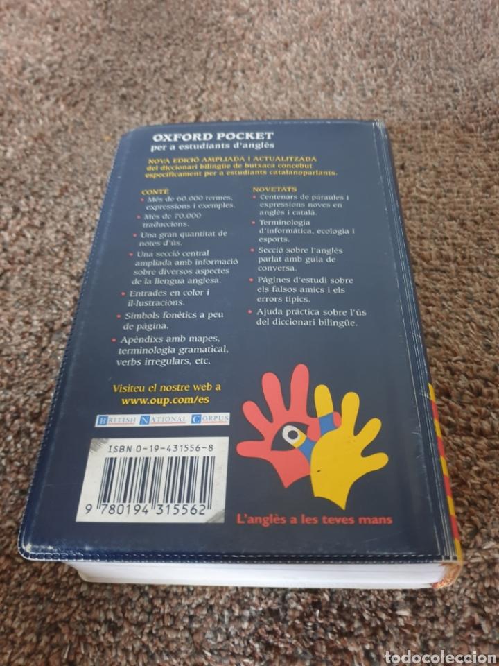 Diccionarios: Libro Oxfors Pocket Catala - Foto 2 - 206555735