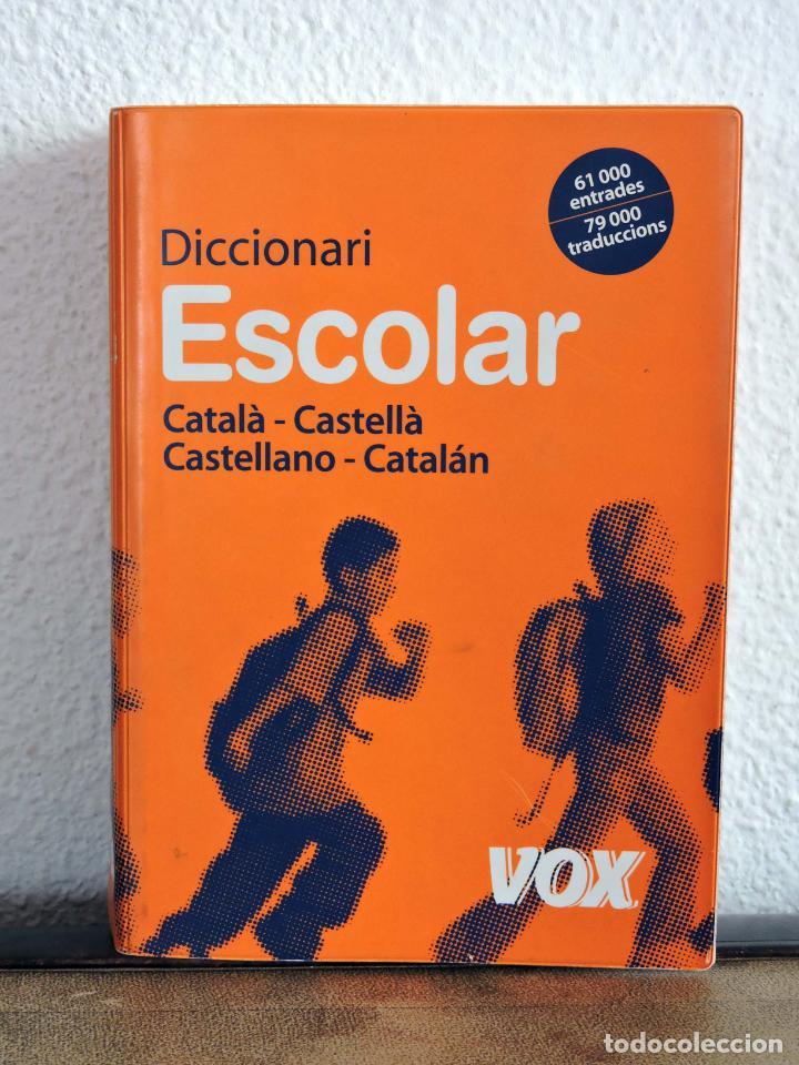 DICCIONARI ESCOLAR VOX CATALÀ CASTELLÀ (Libros Nuevos - Diccionarios y Enciclopedias - Diccionarios)
