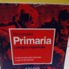 Diccionarios: DICCIONARIO DE PRIMARIA (VOX - LENGUA ESPAÑOLA - DICCIONARIOS ESCOLARES) CON CD. Lote 208887311
