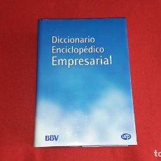 Diccionarios: DICCIONARIO ENCICLOPEDICO EMPRESARIAL. INTITUTO SUPERIOR DE TECNICAS Y PRACTICAS BANCARIAS.1999. Lote 209114355
