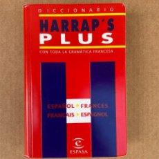Diccionarios: DICCIONARIO HARRAP'S PLUS ESPAÑOL - FRANCÉS, FRANCÉS - ESPAÑOL. Lote 210832125