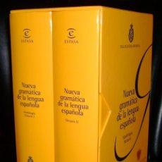 Diccionarios: NUEVA GRAMATICA DE LA LENGUA ESPAÑOLA. RAE 2009. Lote 211697955