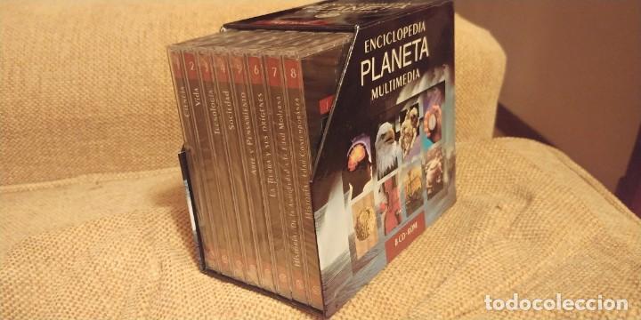 ENCICLOPEDIA PLANETA MULTIMEDIA . 8 CDS . NUEVOS (Libros Nuevos - Diccionarios y Enciclopedias - Diccionarios)