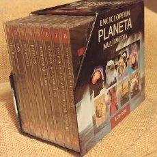 Diccionarios: ENCICLOPEDIA PLANETA MULTIMEDIA . 8 CDS . NUEVOS. Lote 212323862