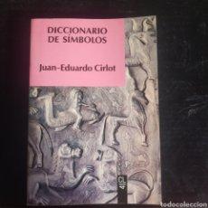 Diccionarios: DICCIONARIO DE SÍMBOLOS. Lote 212786880