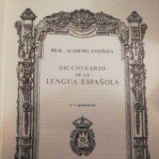Diccionarios: 2 DICCIONARIOS DE LENGUA ESPAÑOLA. Lote 212807446