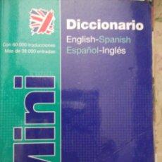 Diccionarios: MINI DICCIONARIO ENGLISH-ESPAÑOL Y ESPAÑOL-INGLÉS. Lote 213721983