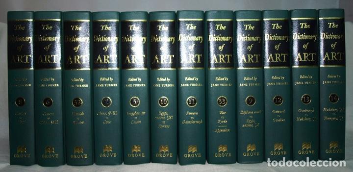 THE DICTIONARY OF ART - JANE TURNER - GROVE, 1996 (Libros Nuevos - Diccionarios y Enciclopedias - Diccionarios)