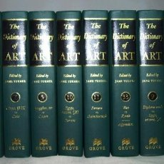 Diccionarios: THE DICTIONARY OF ART - JANE TURNER - GROVE, 1996. Lote 213902102