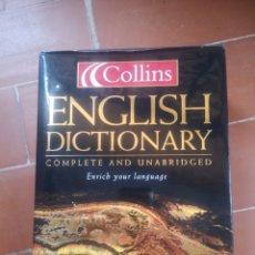 Diccionarios: ENGLISH DICTIONARY COLLINS 2003. Lote 214164322