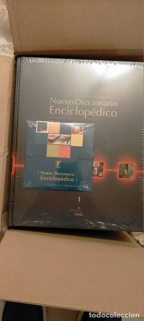NUEVO DICCIONARIO ENCICLOPEDICO. EDICIONES RUEDA RUEDA. 10 TOMOS PRECINTADOS+CD O DVD A ESTRENAR. (Libros Nuevos - Diccionarios y Enciclopedias - Diccionarios)