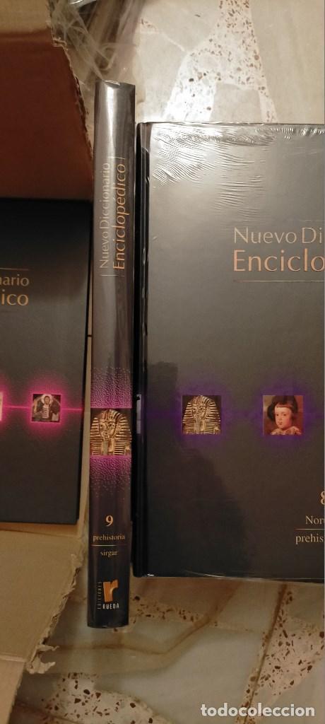 Diccionarios: NUEVO DICCIONARIO ENCICLOPEDICO. EDICIONES RUEDA RUEDA. 10 TOMOS PRECINTADOS+CD O DVD A ESTRENAR. - Foto 3 - 214967271
