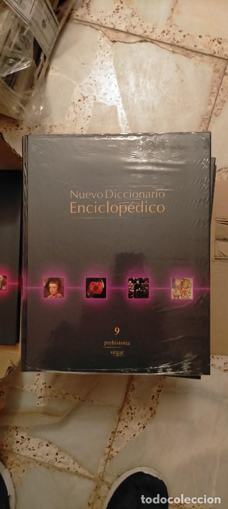 Diccionarios: NUEVO DICCIONARIO ENCICLOPEDICO. EDICIONES RUEDA RUEDA. 10 TOMOS PRECINTADOS+CD O DVD A ESTRENAR. - Foto 5 - 214967271