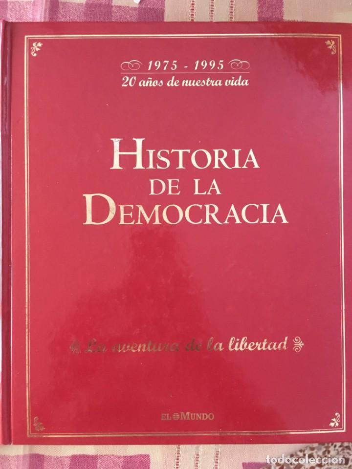 HISTORIA DE LA DEMOCRACIA (Libros Nuevos - Diccionarios y Enciclopedias - Diccionarios)