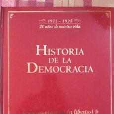 Diccionarios: HISTORIA DE LA DEMOCRACIA. Lote 215314577